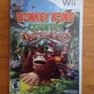 Nintendo Wii Donkey Kong Country Returns Complete with User Guide
