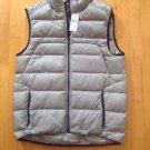 Ralph Lauren Polo Sport RLX Silver/ Grey  Nylon Vest Size Medium