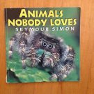 Animals Nobody Loves by Seymour Simon Paperback Book (English) Free Shipping