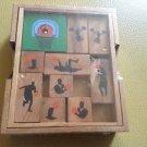 Wooden Basketball Court Brain Teaser  Item 7879W
