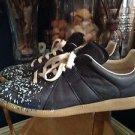 Maison Martin Margiela Men's GAT Splatter Paint Sneaker size 43/ 9-9.5 $600