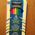 Sargent Art 12 Colored Pencils For Illustrating Drawing Special Effect 7""