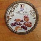 "Matilde Vicenzi  Minivoglie  Empty  Cookie Tin Product of Italy  7.5"" X 3.75""."