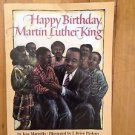 Happy Birthday, Martin Luther King by Jean Marzollo (2000, Paperback, Reprint)