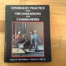 Generalist Practice with Organizations and Communities by Kirst-Ashman and...