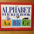 The Alphabet Sticker Book by Robin Page 1995 Hardcover Houghton Mifflin Company