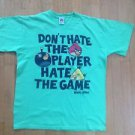 Angry Birds Mens Size Medium Dont Hate The Player Hate The Game Official T-Shirt