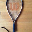 Wilson Dimension Titanium Raquetball Racquet with Cover/  Sleeve included