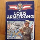 Louis Armstrong Young Music Maker by Dharathula Millender 1997 Paperback