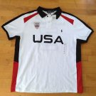 Polo Ralph Lauren Team / Country USA Flag Rugby Short Sleeve Shirt Size Small