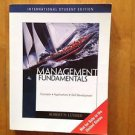 Management Fundamentals by Robert N. Lussier 4th Edition
