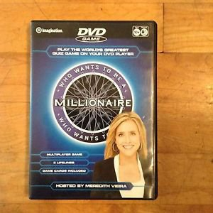 Who Wants To Be a Millionaire DVD 2007 Hosted by Meredith Vieira by Imagination