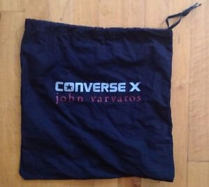 Converse John Varvatos Dust Bag / Shoe Carrying Bag/Shoe  Travel Bag 14 X 14