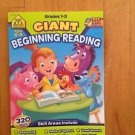Giant Beginning Reading Grades 1-2 Skill Areas Include Sequencing,Vowel Ages 6-8