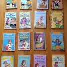 Julie B. Jones  Lot of 16 Chapter Books By Denise Brunkus Levels 1-3 Scholastic
