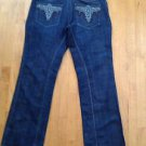 Antik Denim  Vintage Jeans Size 40 Dark Wash Boot Cut/Wide Leg Style  #MCM2896R