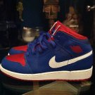 Air Jordan 1 Mid GS Size 6 Youth Game Royal/ GM RYL-Gym RD White Model 554725407