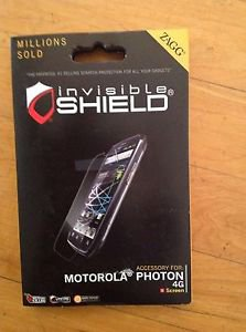 ZAGG Invisible Shield/ Screen Protector for Motorola Photon  Clear