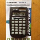 Sentry Dual- Power Calculator 8 Digit Display Dual  Powered Solar&Battery #CA338