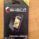 ZAGG Invisible Shield/ Screen Protector for Samsung Conquer  Clear