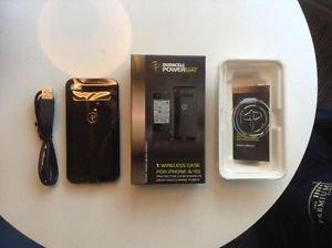 Duracell Powermat  Black Apple I phone 4/ 4S Case