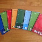 Lot of 8 Spiral Notebooks 1 Subject 70 Sheet Wide Ruled  by A Plus Homework