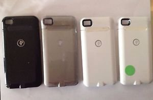 Duracell Powermat  Lot of 4 Pre Owned Apple iPhone 4 / 4S Cases