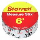 """Starrett SM66W - Measure Stix 3/4"""" x 6'"""