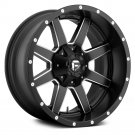 18x8 FUEL Wheels +48 | 6x130 | 84.1 MAVERICK 1PC Rims Matte Black (Set of 4)