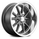 15x8 U.S. MAGS Wheels +1 | 5x120.65 | 72.6 RAMBLER 1PC Rims Gunmetal (Set of 4)