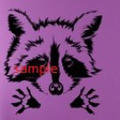 RACOON CROSS STITCH CHART
