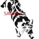 PROWLING CAT CROSS STITCH CHART