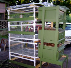 Outdoor Critter Huts w/Nesting Boxes