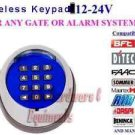 12/24V Universal Wireless Keypad 433.92MH Gate Openers BFT, Nice Apollo, FAAC