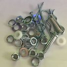 NUTS, SCREWS, PLASTIC, WASHER, THREAD HAIRPIN STAINLESS STEEL COTTER, CLEVIS PIN
