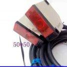 Reflective Infrared Photocell 12 to 240V DC/AC PhotoEye Dual Beam Sensor Openers