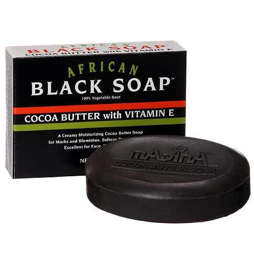 African Black Soap 3.5 oz bar