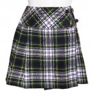 Ladies Dress Gordon Tartan Kilt Scottish Mini Billie Kilt Mod Skirt