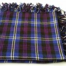 Traditional Scottish Wear Pride of Scotland Tartan Traditional Purled & Fringed Fly Plaid
