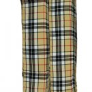 T C Men's Kilt Fly Plaids Plain Camel Thompson 3 1/2 Yards/Piper Kilt Fly Plaid