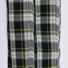 Scottish Kilt Fly Plaids In Dress Gordon Tartan Piper Fly Plaid 3 /1/2 Yards
