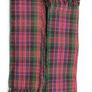 Men's Kilt Fly Plaids Scotland Macleod Tartan 3 1/2 Yards/Piper Kilt Fly Plaid