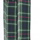T C Men's Kilt Fly Plaids Mackenzie Tartan 3 1/2 Yards/Piper Kilt Fly Plaid