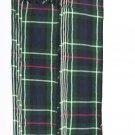 Men's Kilt Fly Plaids Plain Mackenzie Tartan 3 1/2 Yards/Piper Plaid Macleod Tartan