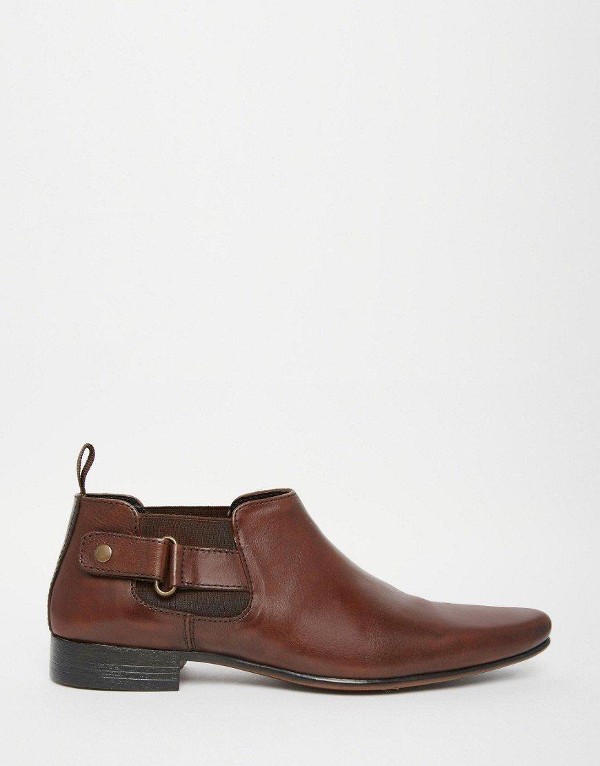 Handmade to order men Jodhpurs brown ankle boot, Men fashion real leather