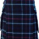 """Mackenzie Tartan Kilt  with Cargo Pocket Traditional Highlands Mackenzie Tartan Kilt 24"""""""