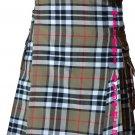 32 Waist Men's Modern Pocket Campbell Thompson Tartan Kilts Scottish Highlander