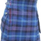 Size 34 Scottish Highland Wear Active Men Heritage of Scotland Tartan Modern Pocket Kilt