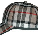 Camel Thompson Tartan Baseball Golf Cap