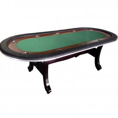 """96"""" Casino Texas Hold'em Poker Table H Wooden Leg"""